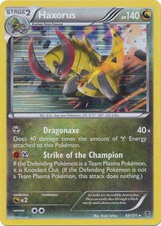 how to get haxorus in pokemon white