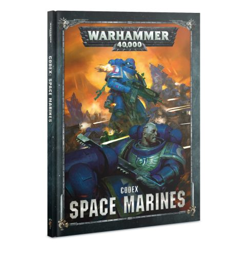 Codex: Space Marines (8th Edition 2019) (Hardcover) - 60030101041